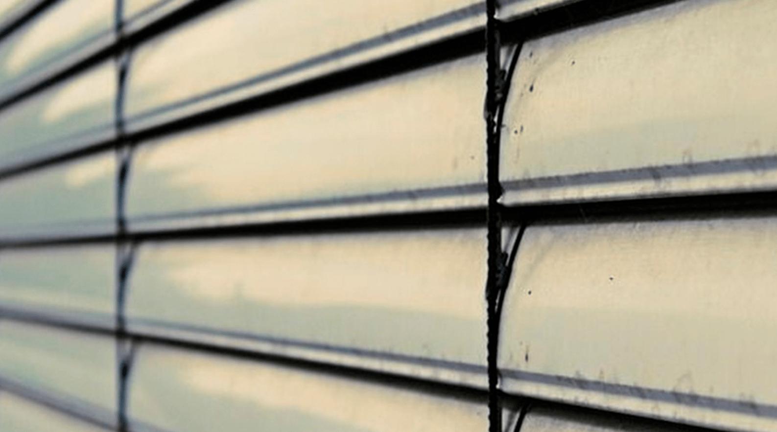 La limpieza de las persianas de PVC